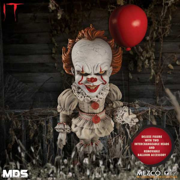 Figura Pennywise - It - Mezco Designer Series MDS - Mezco Toys
