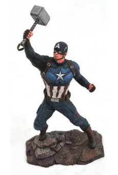 Figura Capitán América - Marvel Gallery - Diamond Select