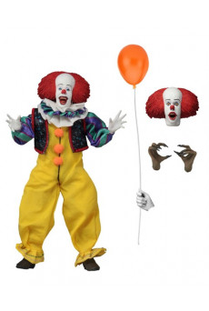 Figura Retro Pennywise - It 1990 - Neca