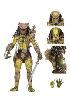 Figura Ultimate Elder: The Golden Angel - Predator 1718 - Neca