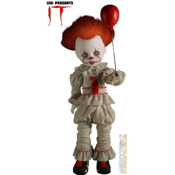 Muñeco Pennywise - It (2017) - Living Dead Dolls - Mezco Toys