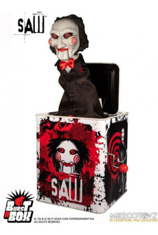 Caja de Música Billy - Saw - Burst-A-Box - Mezco Toys