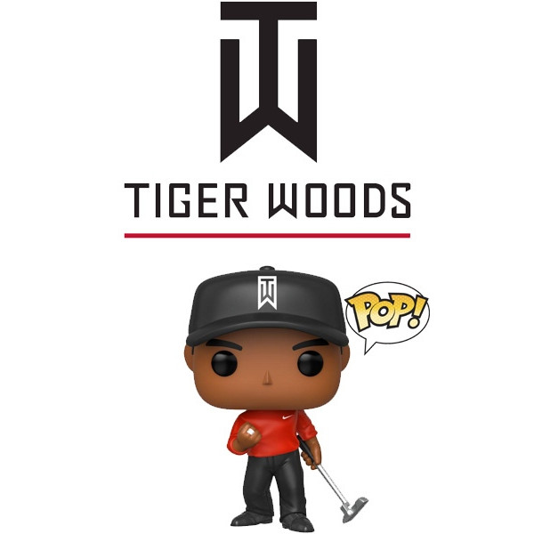 Figura Funko Pop Vinyl - Tiger Woods