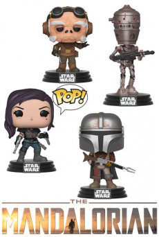 Figuras Funko Pop Vinyl - Star Wars: The Mandalorian