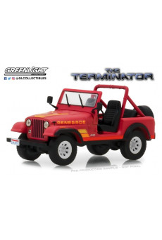 Jeep CJ-7 Renegade Sarah Connor 1:43 - Terminator - Greenlight