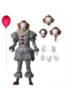 Figura Ultimate Pennywise - It: Capítulo 2 - Neca
