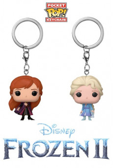 Llaveros-Figuras Funko Pocket Pop Keychain - Disney - Frozen 2
