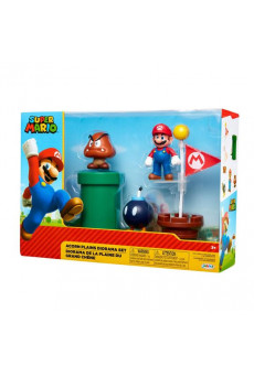 Acorn Plains Playset - Super Mario - Nintendo - Jakks Pacific