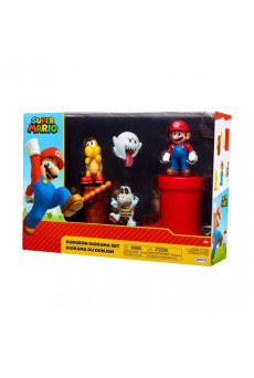 Dungeon Playset - Super Mario - Nintendo - Jakks Pacific