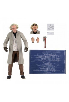 Figura Doc Brown - Regreso al Futuro - Neca