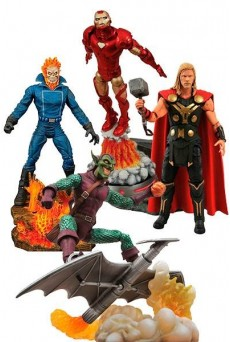 Figuras MARVEL SELECT – Diamond Select