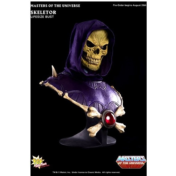 Busto Skeletor – Tamaño Real – Masters del Universo – Pop Culture Shock 1/1