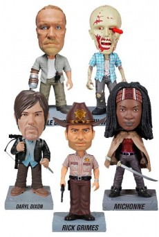 Figuras THE WALKING DEAD – Wacky Wobbler – Cabezones - Funko