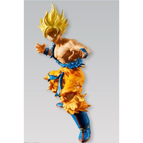 Figura Goku Super Saiyan – Dragon Ball Styling – Bandai Shokugan