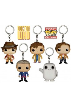 Llaveros-Figuras Funko Pocket Pop Keychain - Doctor Who