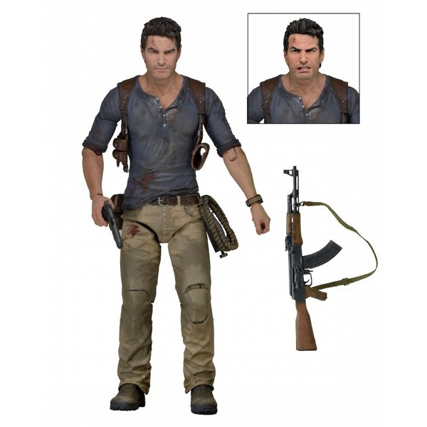 Figura Nathan Drake Ultimate – Uncharted 4 – Neca