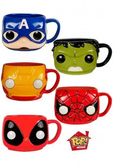 Tazas Funko Pop Home – Marvel