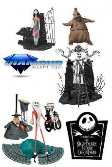 Figura Jack Skeleton – Sally – Pesadilla antes de Navidad – Diamond Select