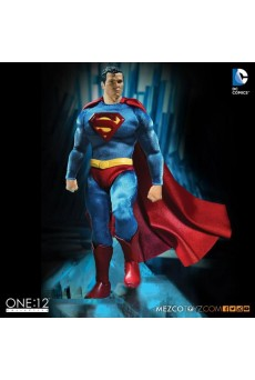 Figura Superman – Escala 1/12 – Mezco Toys