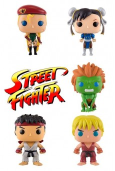 Figuras Funko Pop Vinyl – Street Fighter