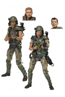 Pack Figuras Colonial Marines – Aliens – Neca