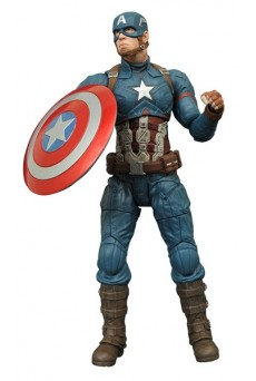Figura Capitán América – Civil War – Marvel Select – Diamond Select