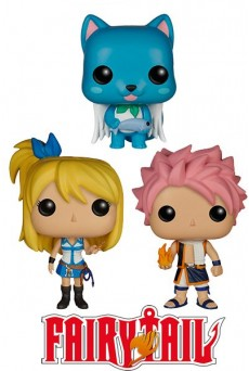Figuras Funko Pop Vinyl – Fairy Tail