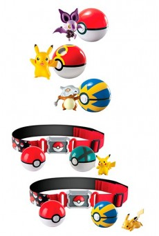 Poké Ball Pokémon - Tomy - Clip´n´Carry