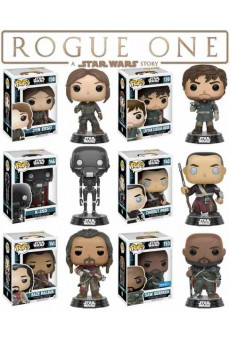 Figuras Funko Pop Vinyl – Star Wars – Rogue One