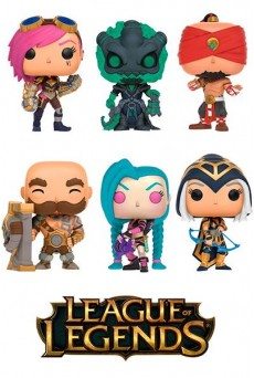 Figuras Funko Pop Vinyl – League of Legends