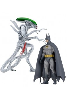 Pack Figuras Batman vs Joker Alien – Neca