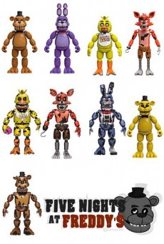 Figuras articuladas Five Nights at Freddy´s – Funko