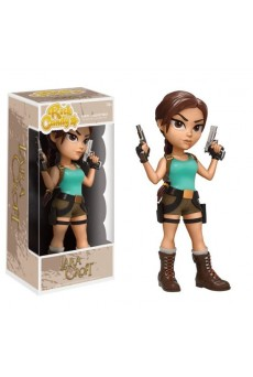 Figura Rock Candy Vinyl – Lara Croft – Tomb Raider – Funko