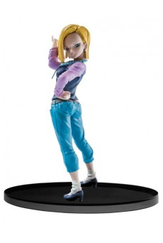 Figura Androide 18 - Dragon Ball Super - Banpresto