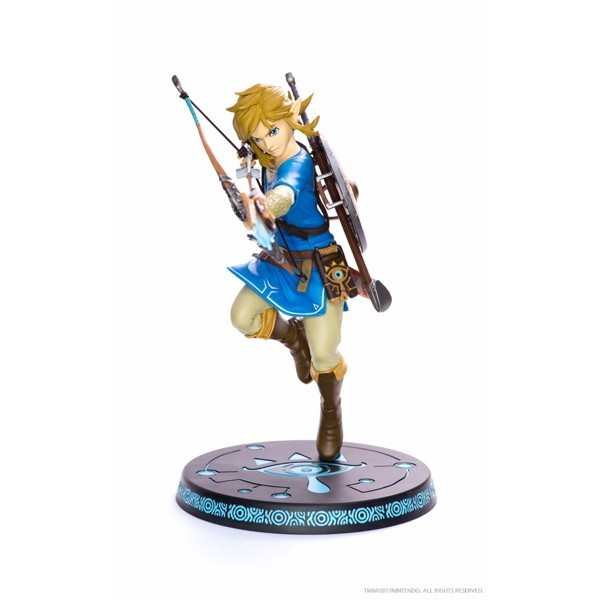 Figura Link – The Legend of Zelda: Breath of the Wild – First 4 Figures