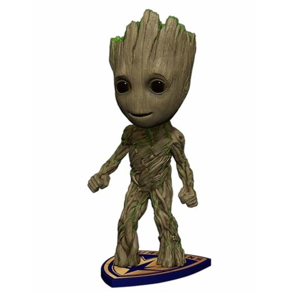 Figura Groot - Head Knockers - Guardianes de la Galaxia Vol. 2 - Neca
