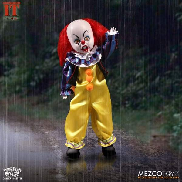 Muñeco It 1990: Pennywise - Living Dead Dolls - Mezcotoys