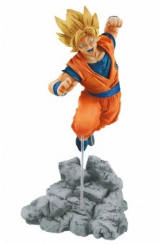 Figura Goku Super Saiyan - Dragon Ball Super - Soul x Soul - Banpresto