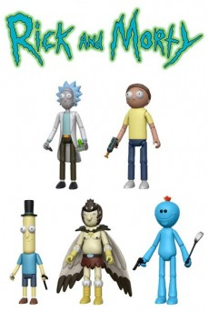 Figuras Rick y Morty Action Figures - Funko